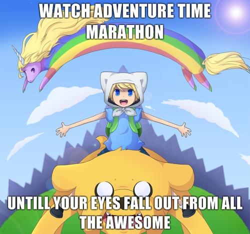 Adventure Time Marathon Fan Art