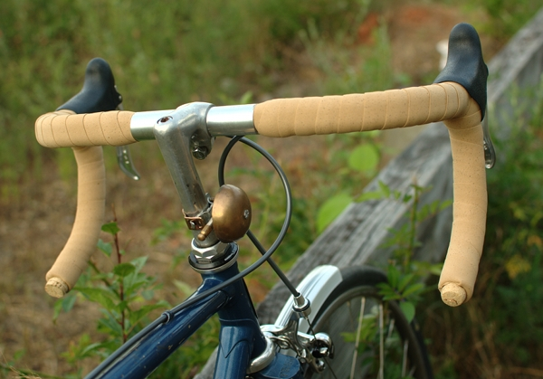 Cineli Classic Handlebar Cork Tape With Bar Ends MULTIPLE COLORS AVAIL Pair