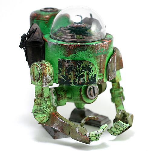 """Salvage Bot - LEAF"" Custom WWRp Bramble"