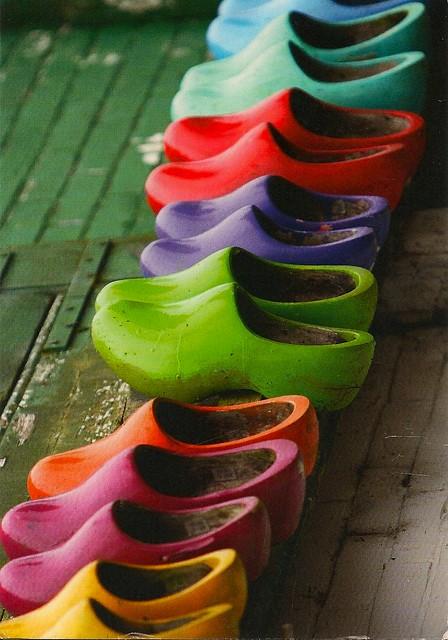 zoccoli a colori