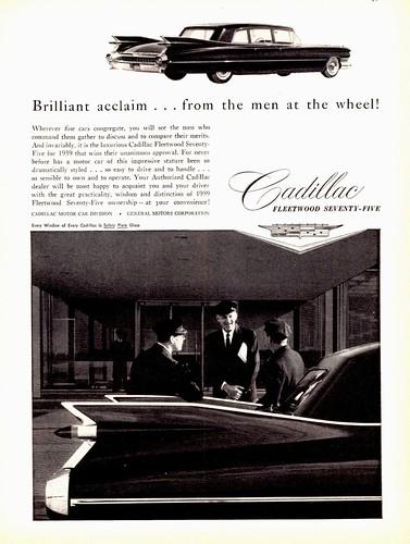 1959 Cadillac Fleetwood Seventy-Five   Limousine