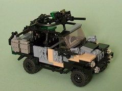 "C404 ""Black Dog"" (Aleksander Stein) Tags: light volvo lego 4x4 military vehicle iveco wolfhound tactical ndc c404 c405 ampv"