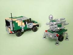 C405 Wolfhound (3) (Aleksander Stein) Tags: light volvo lego 4x4 military vehicle iveco wolfhound tactical ndc c404 c405 ampv
