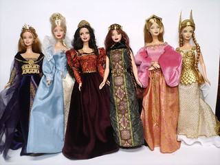 some of my Princess Dolls Of The World