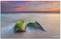 Green hair rocks (alonsodr) Tags: andaluca seascapes sony filter alpha cdiz alonso tarifa marinas carlzeiss puntapaloma nd8 a900 alonsodr gnd8 alonsodaz alpha900 degradadoinverso x121s cz1635mm mygearandmepremium mygearandmebronze mygearandmesilver mygearandmegold mygearandmeplatinum mygearandmediamond reversegraduated