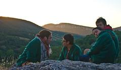 08 Rutas de marcha (5) - Amaneciendo en la montaña
