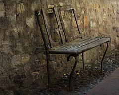 Anything and everything (Funchye) Tags: old italy bench liguria cervo