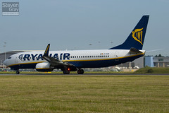 EI-EGB - 38491 - Ryanair - Boeing 737-8AS - Luton - 100625 - Steven Gray - IMG_5951