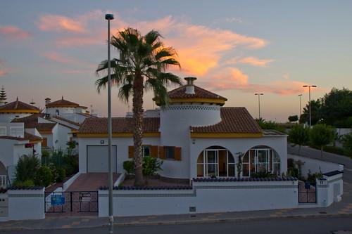 Anochecer en Alicante