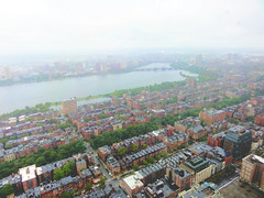 Boston on a Rainy Day (brooksbos) Tags: city summer urban color colour wet water colors boston misty architecture geotagged ma photography photo colorful colours cloudy sony newengland overcast cybershot aerial rainy colourful raining bostonma backbay beaconhill sonycybershot bostonist masschusetts lurvely 02116 everyblock thatsboston dschx5v hx5v brooksbos