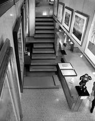 stairs, carlo scarpa, olivetti showroom, venice 1957-58