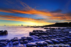(joyoyo) Tags: park city black rock landscape island dawn nikon taiwan bean tokina card technique seashore 1224mm f4 keelung curd hoping beachscape  d90  tokinaatx124afprodx1224mmf4  joyoyo  tokinat124