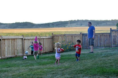 "Evening Soccer ""Game"""