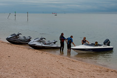 Stopped for a Chat (gary8345) Tags: thames boat jetski essex 2010 canveyisland jetskies canvey thamesestuary