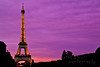Standing tall~ (Pink Pixel Photography (f.k.a. Sunny)) Tags: longexposure pink sunset sky paris france eiffeltower toureiffel iloveyou eiffelturm sweety langzeitbelichtung ndfilter graufilter imissparis