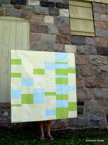 Filmstrip quilt back