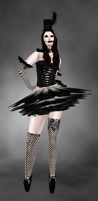 *PH* Gothic Burlesque + tutu! again cause i love this skirt + Posh for free!