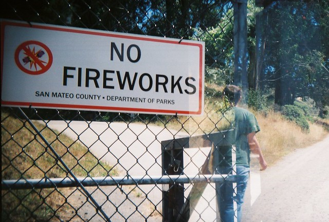 no fireworks and david