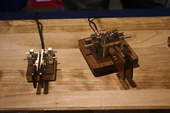 "Keyer paddles for sending faster morse • <a style=""font-size:0.8em;"" href=""http://www.flickr.com/photos/10945956@N02/4924527526/"" target=""_blank"">View on Flickr</a>"
