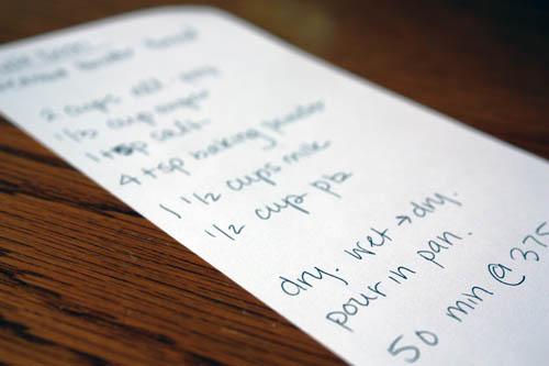 i heart lists.