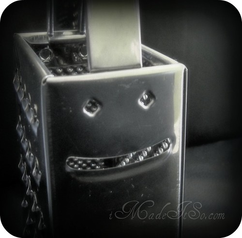 smiling grater