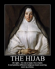 d the hijab (dmixo6) Tags: france public costume catholic habit islam fear faith religion hijab culture identity tradition paranoia immigrant discrimination legislation xenophobia dugg cowl acceptable dmixo6