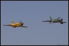 F-86 Sabres (djlpbb40) Tags: airshow sabre airforce usaf tcm warbird usairforce canadair f86 airforcebase cl13b ktcm sabre6 n186pj jointbaselewismcchord mcchordairexpo2010 mcchordfield mcchordfieldairport n80fs fu675