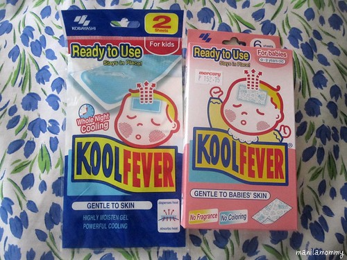 kool fever baby fever patches