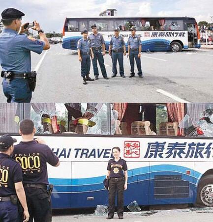 无耻的菲律宾警察