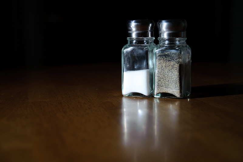 Day 320- Salt & Pepper