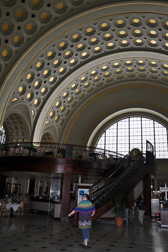 The shawl enjoyed Union Station