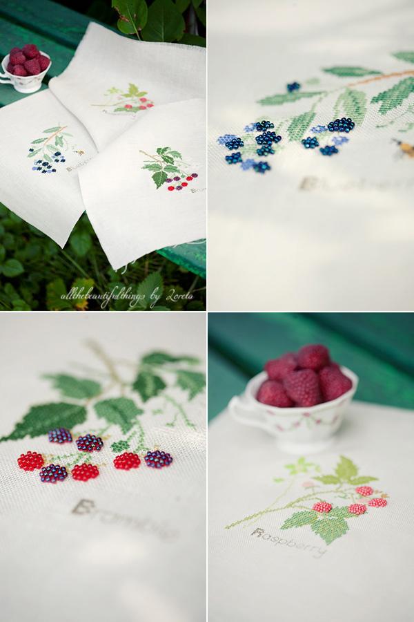 Bramble, Raspberry, Blueberry (Kazuko Aoki)