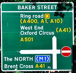 Baker street - London