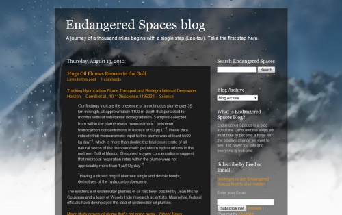 Endangered Spaces