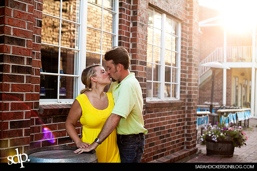 Parkville, Missouri engagement photographer