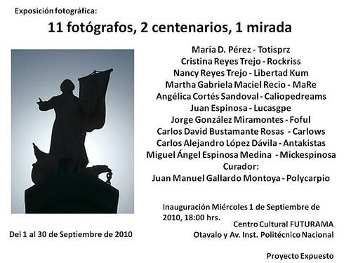 11 fotografos, 2 centenarios, 1 mirada