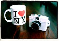 I  NY ( picturemaker ) Tags: camera ny newyork love lomo lomography diana cameras liebe kamera becher ilovenewyork kameras dianamini