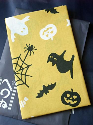 Kamawanu Halloween tenugui