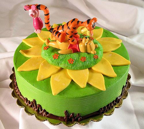 Winnie the Pooh Custom Cake