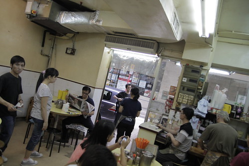 Inside luxury Coffee Cha Chaan Teng