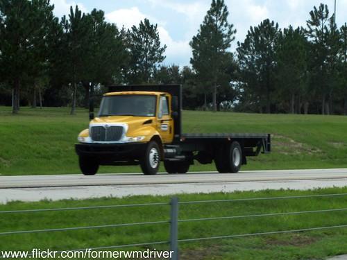 Penske International Durastar Stakebody Flatbed Rental Truck A