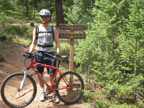 Dennis at Colorado & Green Mountain Trail Junction