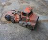 DSCF7659 (gingrpotamus) Tags: old orange hot broken truck toy outside rust paint pavement wheels transport cement cracks chipped