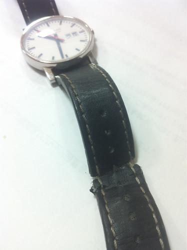 腕時計をどうしたもんか・・・