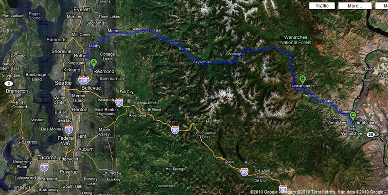 seattle-leavenworth-wenatchee
