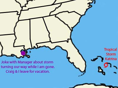 20050824 Katrina Timeline