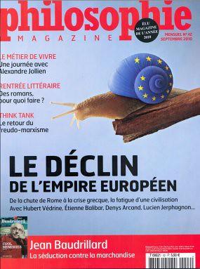 10h29 Philosophie Magazine Déclin imperio europeo