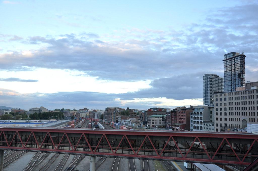 trainyard & seabus walkway