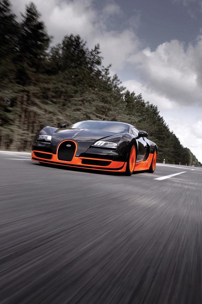 Bugatti Veyron Super Sport test drive