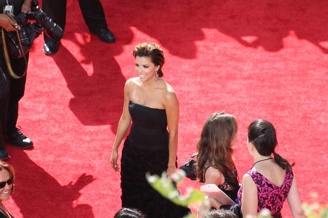 desperate housewives' eva longoria walks red carpet at 62nd annual primetime emmy awards by webn-tv